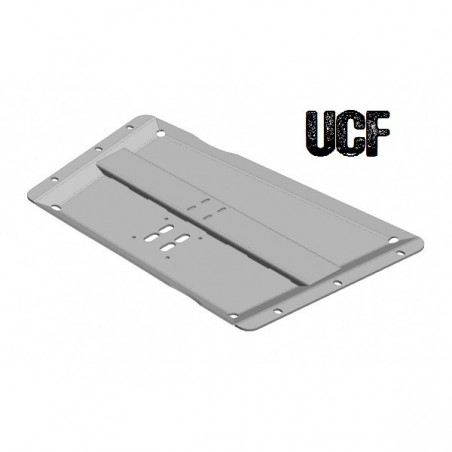 UCF Transfer Case Skid for '97-'02 TJ (Ultra High-Clearance)(Carbon Steel)