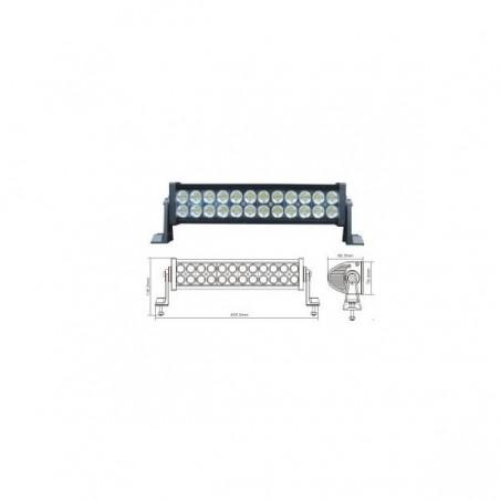 13.5 inch LED Light Bar: 72W 5760 Lumens