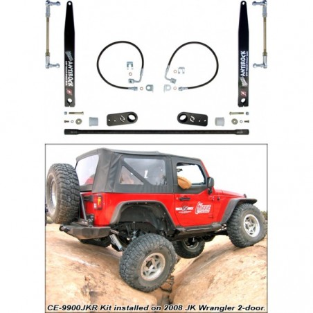 JK Antirock Rear Sway Bar Kit - 2 Door Models Only
