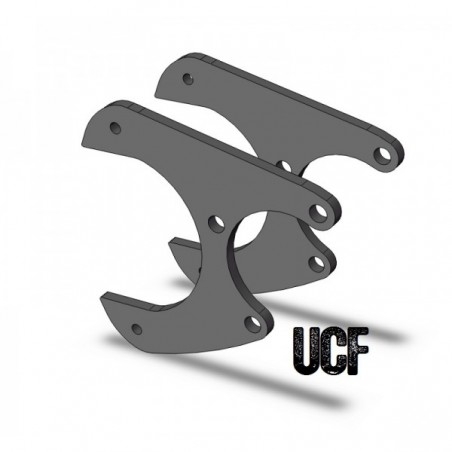 "UCF Sterling 10.25""/10.5"" Rear Disc Brake Brackets"