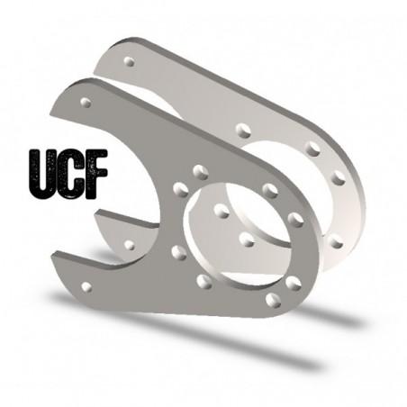 UCF Dana 60 Rear Disc Brake Brackets