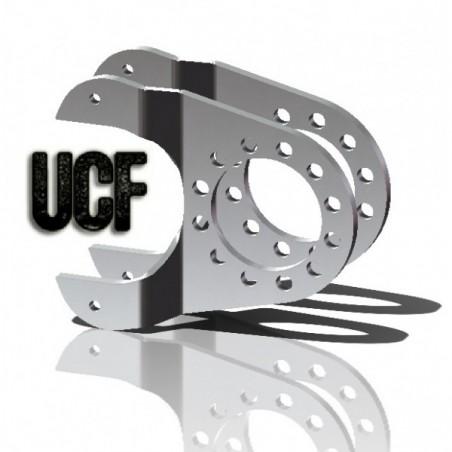 UCF 14 Bolt Full Floater Disc Brake Brackets
