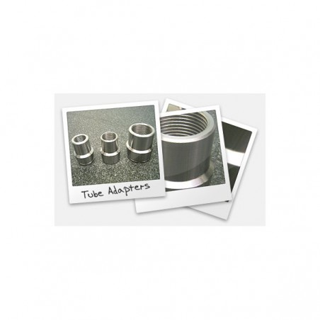 "Tube Adapter (Bung): For 1/2""-20 rod end, RH/LH thread available, fits 3/4"" ID, 1"" OD"