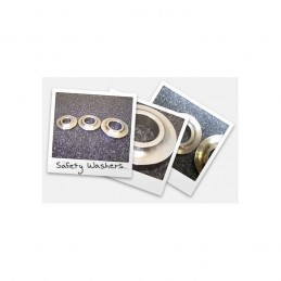 "Safety Washers: 1/2"" safety..."