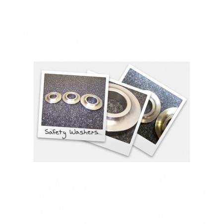 "Safety Washers: 1/2"" safety washer, 1/4"" thick"