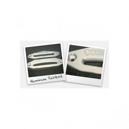 Aluminum Fairlead (Synthetic): Socket head style hardware for one fairlead
