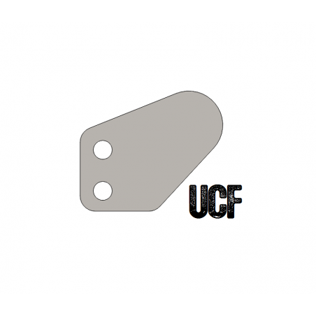 UCF Jeep TJ/LJ Winch Hoop Plates