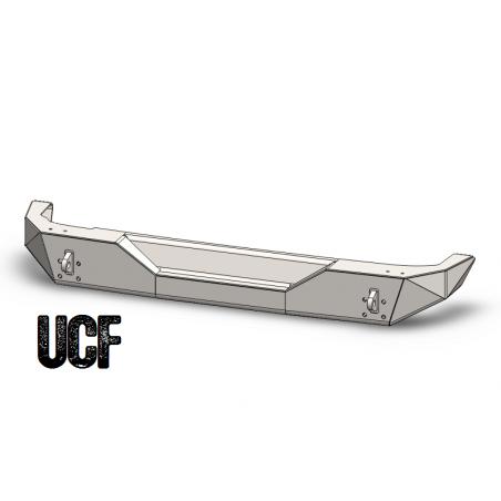 UCF Steel Rear Bumper for Jeep JK