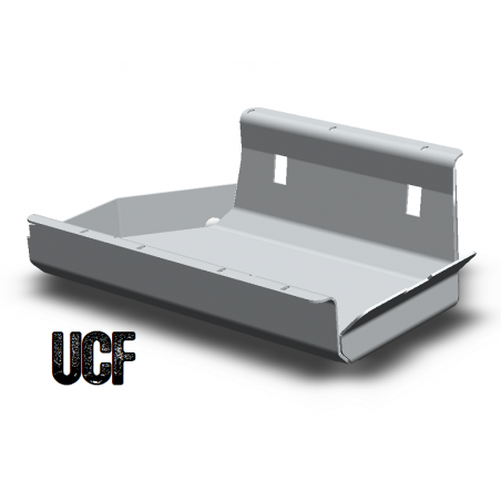 """UCF """"No Body-Lift"""" Aluminum Gas Tank Skid for Jeep YJ"""