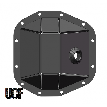 UCF JL & JT Rubicon Rear Dana 44 M220 HD Diff Cover (DIY Kit)