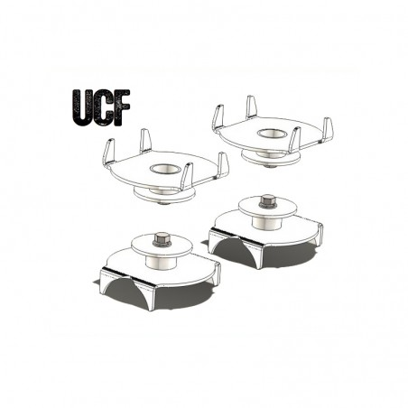UCF Jeep TJ Rear Coil Spring Mounts