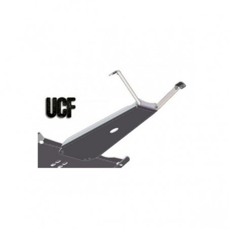 UCF Carbon Steel Engine Skid Plate for '87-'95 YJ (4.0l)