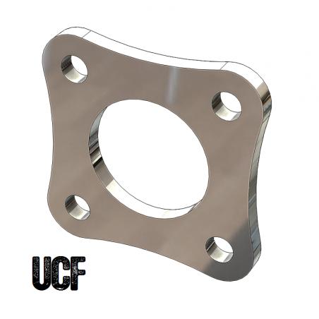 UCF 4-Bolt Center Flange for 1-3/4 Inch Round Tube