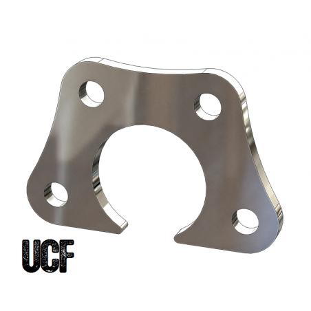 UCF 4-Bolt Offset Flange for 1-3/4 Inch Round Tube