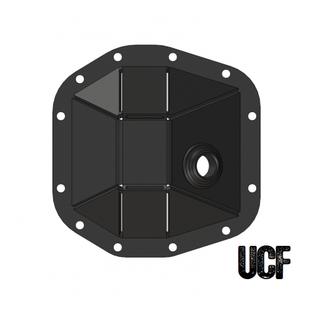 UCF JL Front Dana 30 M186 HD Diff Cover (Welded)