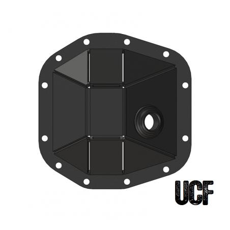 UCF JL Front Dana 30 M186 HD Diff Cover (DIY Kit)