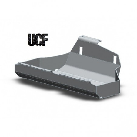 """UCF """"No Body-Lift"""" Steel Gas Tank Skid for Jeep TJ"""