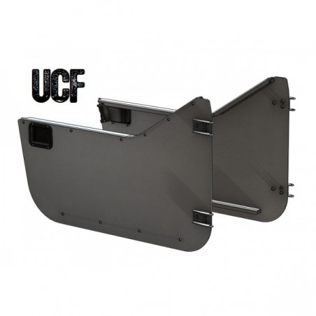 UCF Jeep CJ/YJ Aluminum Trail Doors