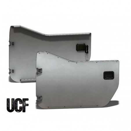 UCF Jeep JK & JKU Aluminum Trail Doors (Front/2-Door)