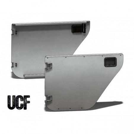 UCF Jeep JK JKU Aluminum Rear Trail Doors