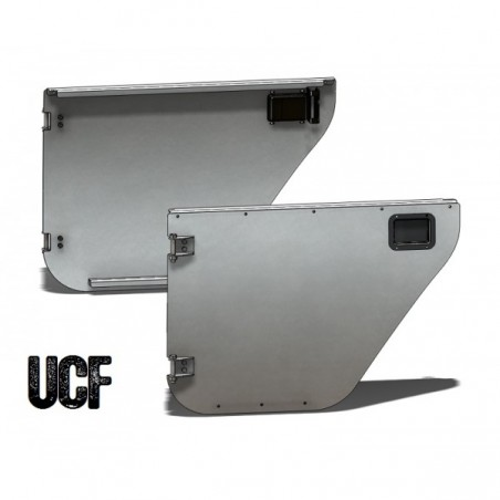 UCF Jeep JKU Aluminum Rear Trail Doors