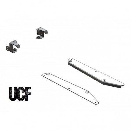 UCF Jeep YJ Aluminum Soft Upper Attachment Brackets for Trail Doors
