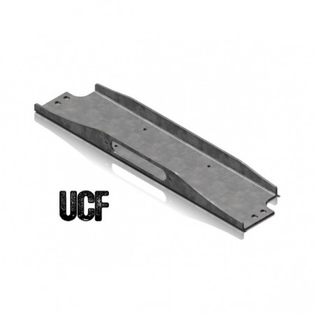 UCF Carbon Steel Winch Plate for Jeep TJ