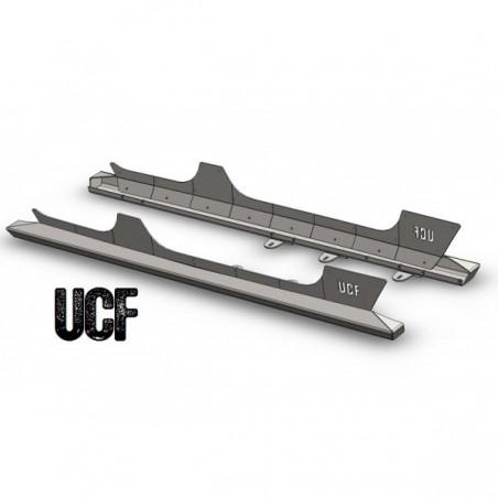 UCF Rocker Guards for 4 Door JK Unlimited with Rock Rail