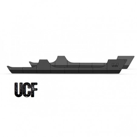 UCF Rocker Guards for 4 Door JK Unlimited