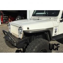Kit Jeep Wrangler TJ Rear 6/'/' Flare Tube Fenders D.I.Y