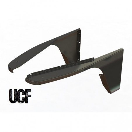 UCF Rock Fenders for Jeep TJ/LJ DIY Kit