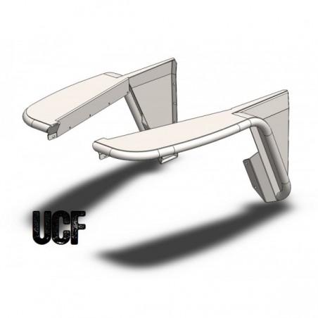 UCF Highline Front Tube Fenders for Jeep TJ/LJ