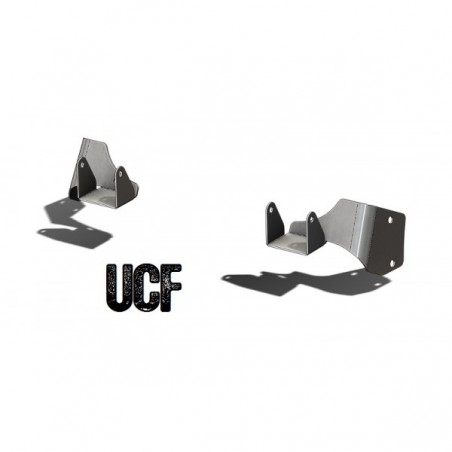 "UCF Jeep TJ Windshield Mounting Brackets for 3"" LED Cubes"