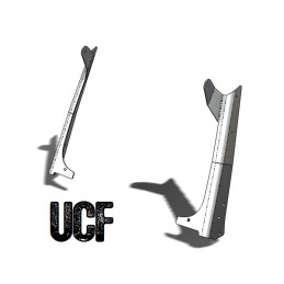 UCF TJ Aluminum Windshield...