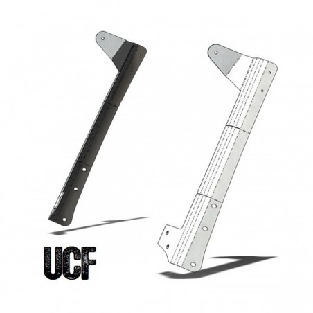 "UCF JK Aluminum Windshield Guards 50"" LED Light-Bar Mounts"