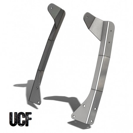 "UCF CJ/YJ Steel Windshield Guards 50"" LED Light-Bar Mounts"
