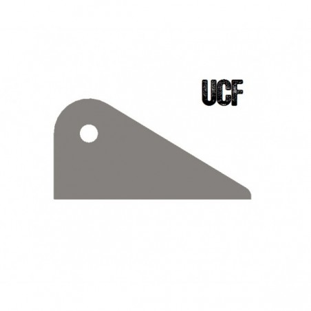 UCF Long Flat Bottom Tab
