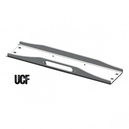 UCF 6061-T6 Aluminum Winch Plate for Jeep YJ
