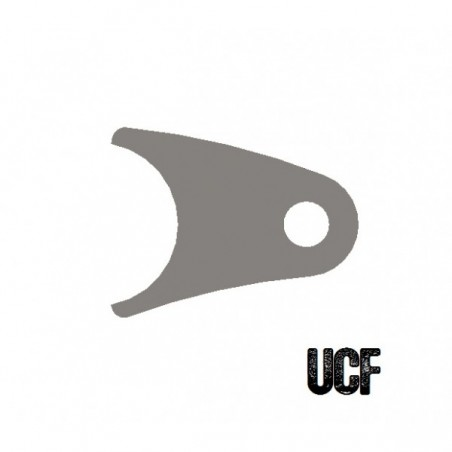 "UCF Curved Coil-Over Tab for 1 3/4"" Tube"