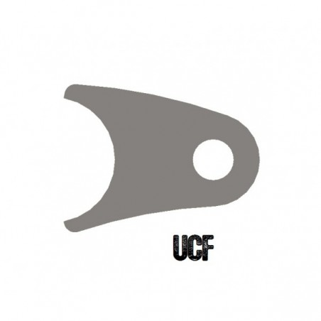 "UCF Curved Coil-Over Tab for 1 1/2"" Tube"