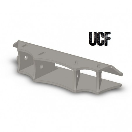 "UCF Chassis Link Mounting System for 1 1/4"" Heims and Flex Joints (Batwing)"