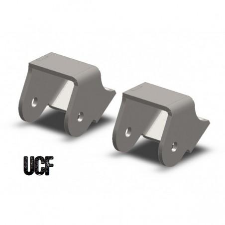 UCF HD Lower Control Arm Mounts for Jeep TJ, LJ, XJ & JK (No Cam-Bolt Slot)