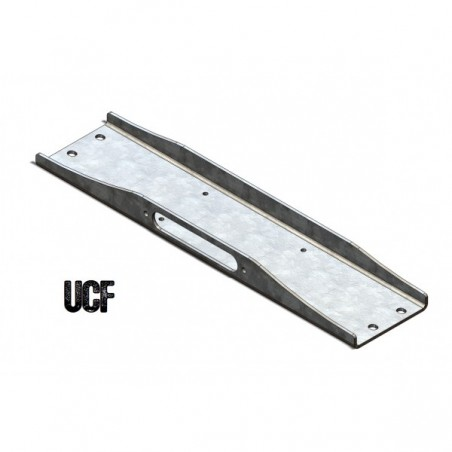 UCF Carbon Steel Winch Plate for Jeep YJ