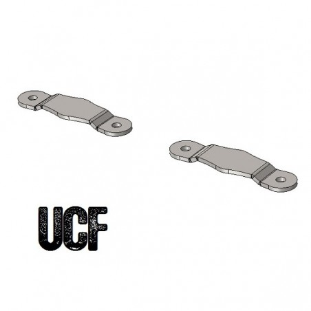 UCF JK Unlimited C-Pillar Floor Mounts