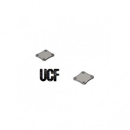 UCF JK Unlimited C-Pillar Fender Top Mounts