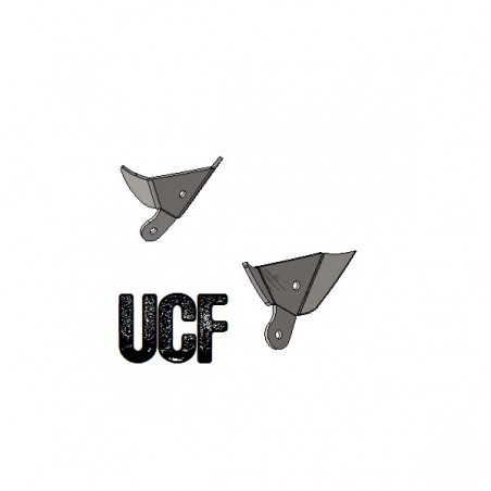 UCF JK Unlimited B-Pillar Upper Tube Mounts