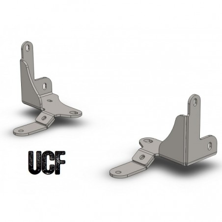 UCF JK Unlimited B-Pillar Floor Mounts