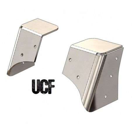 UCF TJ Windshield Support Cage Brackets