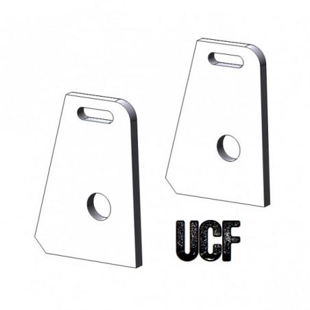 UCF TJ Roll-Cage C-Pillar Lower Seatbelt Tabs