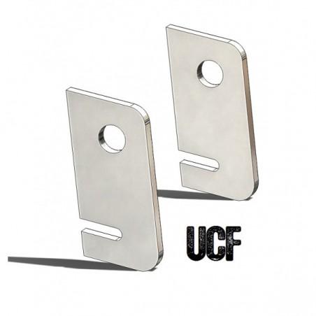 UCF TJ Roll-Cage B-Pillar Lower Seatbelt Tabs